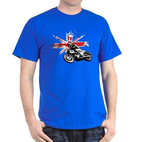 UNION JACK CAFE RACER Dark T-Shirt