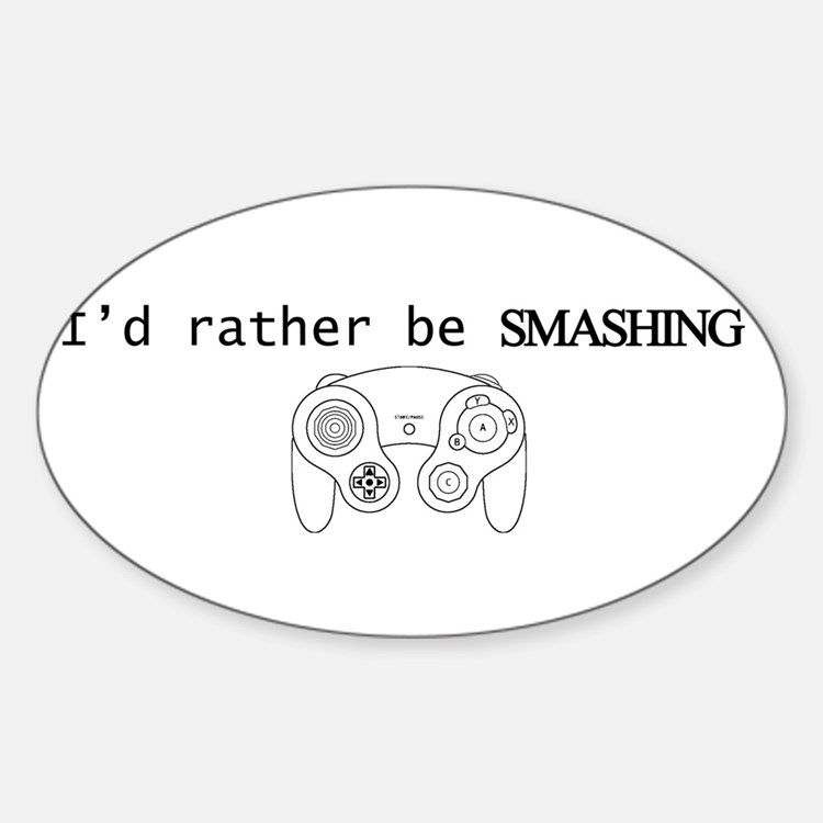 I'd rather be Smashing Decal