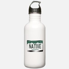 """""""NATIVE"""" Colorado License Plate Water Bottle"""