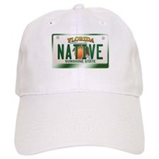 """NATIVE"" Florida License Plate Baseball Cap"