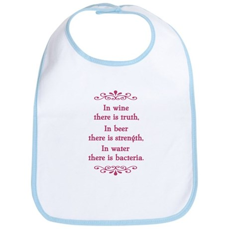 In wine there is truth.... Bib