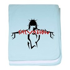 Salvation (red) baby blanket