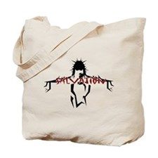 Salvation (red) Tote Bag