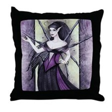 """Web Witch"" Throw Pillow"
