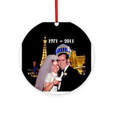Jane Murphy Las Vegas Personalize Ornament (Round)