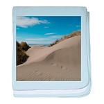 Pacific Dune Scene baby blanket