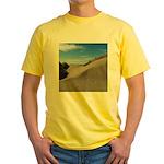 Pacific Dune Scene Yellow T-Shirt