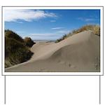 Pacific Dune Scene Yard Sign