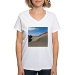 Pacific Dune Scene Women's V-Neck T-Shirt