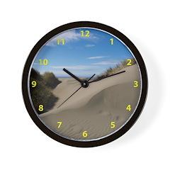 Pacific Dune Scene Wall Clock