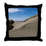 Pacific Dune Scene Throw Pillow