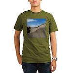 Pacific Dune Scene Organic Men's T-Shirt (dark)