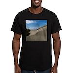 Pacific Dune Scene Men's Fitted T-Shirt (dark)