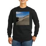 Pacific Dune Scene Long Sleeve Dark T-Shirt