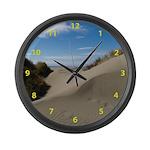 Pacific Dune Scene Large Wall Clock