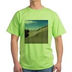 Pacific Dune Scene Green T-Shirt