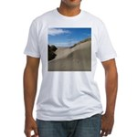 Pacific Dune Scene Fitted T-Shirt