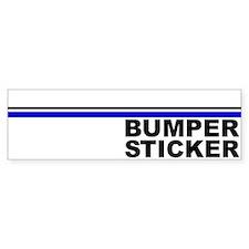 Generic Bumper Bumper Sticker