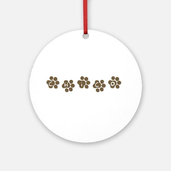 CHICO Ornament (Round)