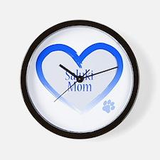 Pug Mom Wall Clock
