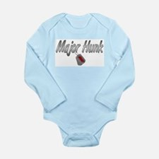 Army Major Hunk ver2 Long Sleeve Infant Bodysuit