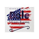 Official Flag of Pittsburgh Women's V-Neck Dark T-