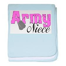 Army Niece baby blanket