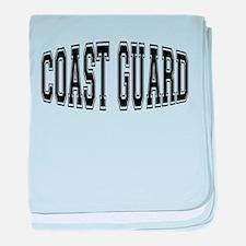 Coast Guard baby blanket