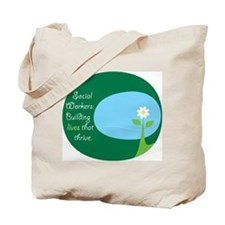 Social Workers: Building Live Tote Bag
