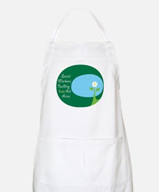 Social Workers: Building Live BBQ Apron