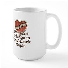 """""""Fiddleback Maple"""" Mug"""