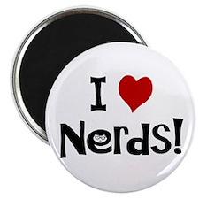"""I Love Nerds 2.25"""" Magnet (100 pack)"""