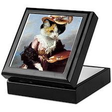 Miss Kitty Keepsake Box