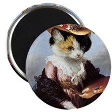 """Miss Kitty 2.25"""" Magnet (10 pack)"""