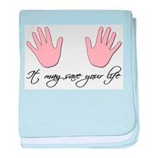 It may save your life baby blanket