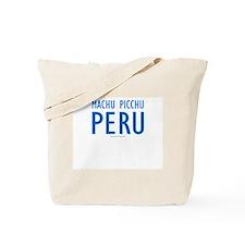 Machu Picchu Peru - Tote Bag