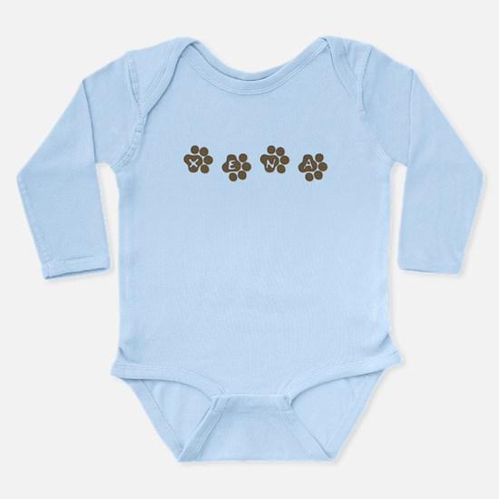 XENA Long Sleeve Infant Bodysuit