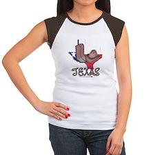 Texas Women's Cap Sleeve T-Shirt