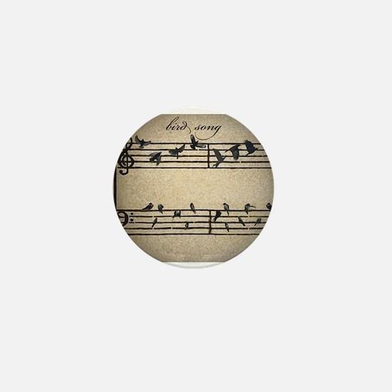 bird song Mini Button