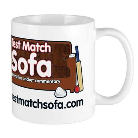 Test Match Sofa logo Mugs