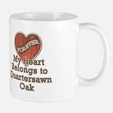 """Quartersawn Oak"" Mug"