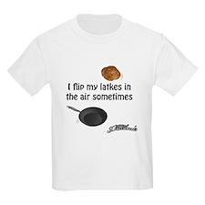I Flip My Latkes T-Shirt
