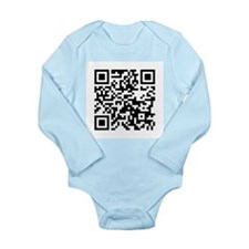 Funny Ovation guitar Long Sleeve Infant Bodysuit
