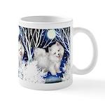 American Eskimo Dog Winter Mug
