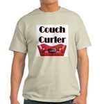 Couch Curler Ash Grey T-Shirt