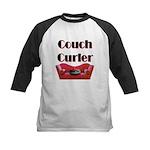 Couch Curler Kids Baseball Jersey
