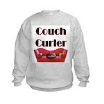 Couch Curler Kids Sweatshirt