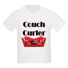 Couch Curler Kids T-Shirt