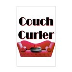 Couch Curler Mini Poster Print