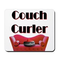 Couch Curler Mousepad